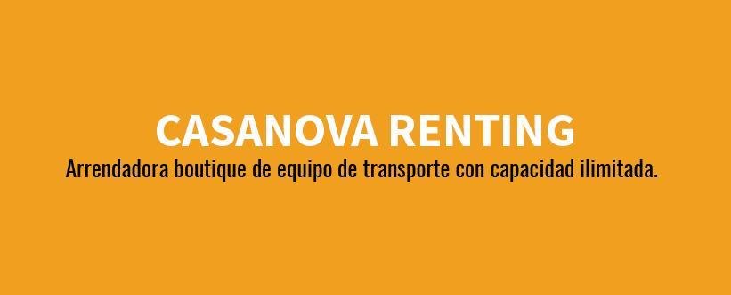 Renta de autos de pasajeros y carga
